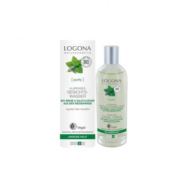 Tónico purificante menta Bio Logona, 125 ml