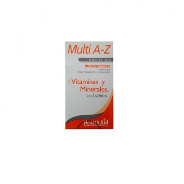 Multivit & Minerals A to Z Health Aid, 90 comp.