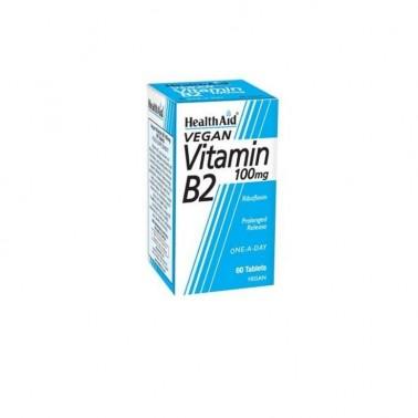 Vit B2 Riboflavina Health Aid, 60 comp.
