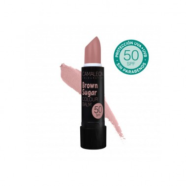 Camaleon Colour Balm Sugar Brown SPF50, 4 gr.