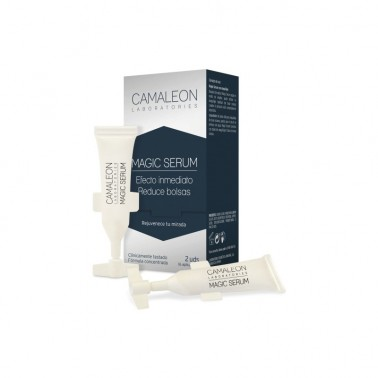 Camaleon Sérum Magic sin color 2 tubos, 2 ml.