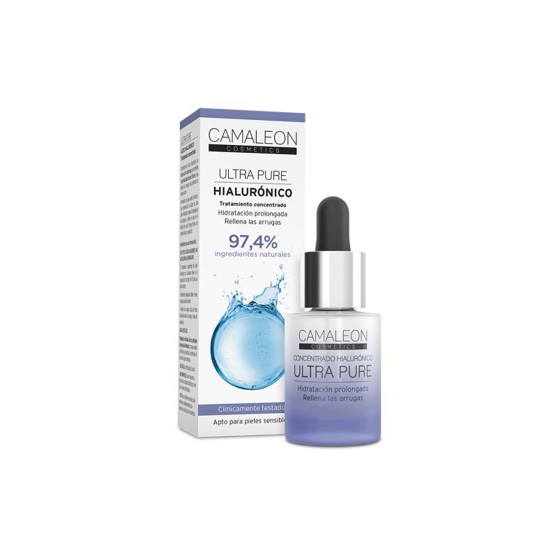 Camaleon Ultra Pure Concentrado Hialurónico, 15 ml.
