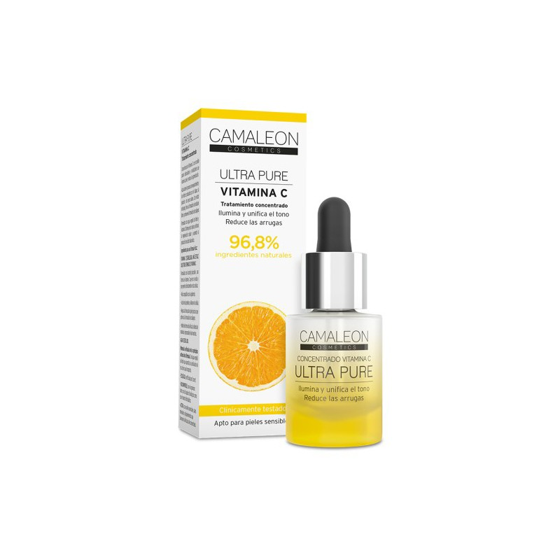 Camaleon Ultra Pure Concentrado Vitamina C, 15 ml.