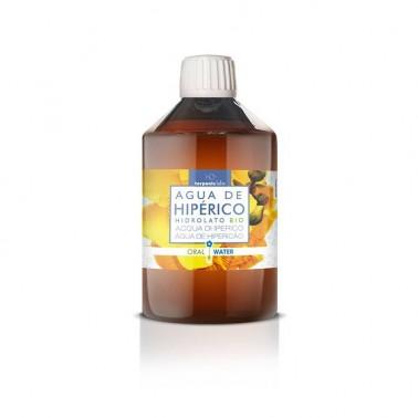 Agua de Hipérico Hidrolato alimentario BIO Terpenic, 250 ml.