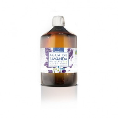 Agua de Lavanda Hidrolato alimentario BIO Terpenic, 250 ml.