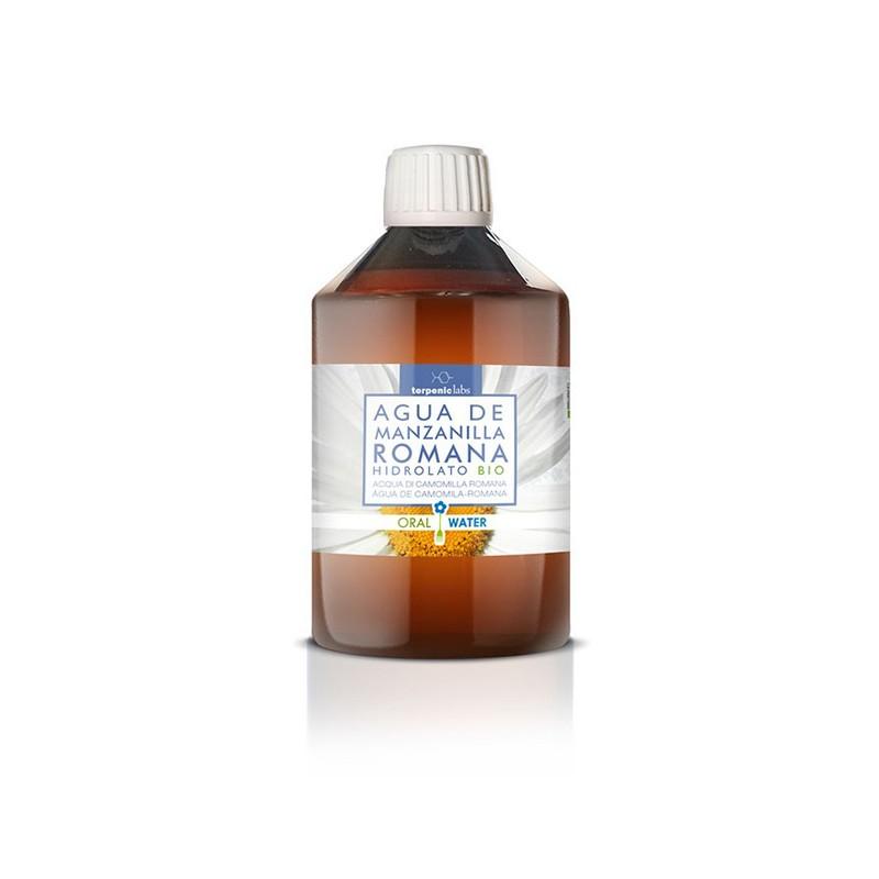 Agua de Manzanilla Romana Hidrolato BIO Terpenic, 250 ml.