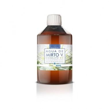 Agua de Mirto Verde Hidrolato Alimentario BIO Terpenic, 250 ml.