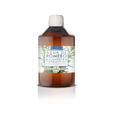 Agua de Romero Alcanfor Hidrolato BIO Terpenic, 250 ml.
