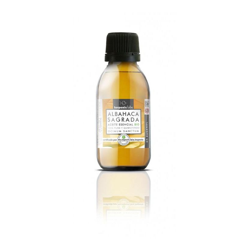 Albahaca Sagrada Aceite Esencial Alimentario BIO Terpenic