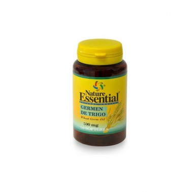 Aceite de Germen de Trigo 500 mg. Nature Essential, 60 perlas