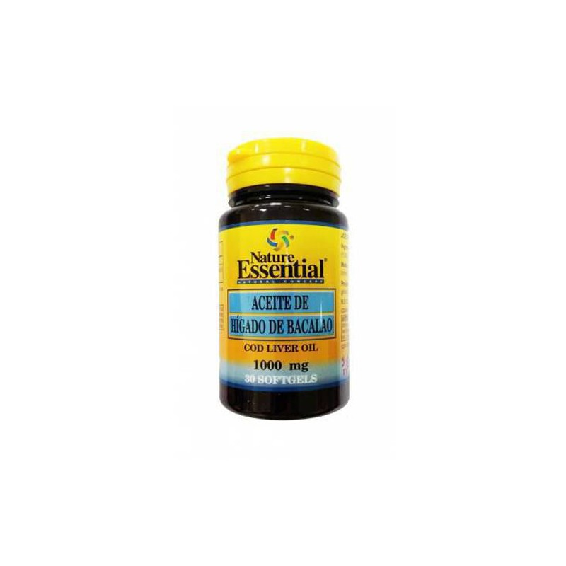 Aceite de Higado de Bacalao 1000 mg. Nature Essential