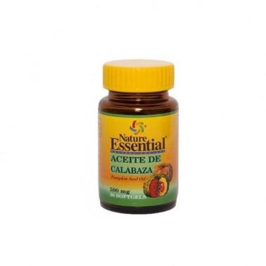 Aceite de Semilla de Calabaza 500 mg. Nature Essential, 50 perlas