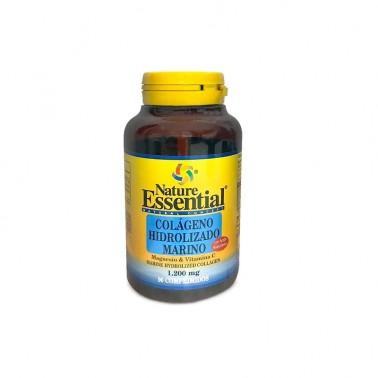 Colágeno marino hidrolizado + Mag 1200 mg. Nature Essential, 90 comp.