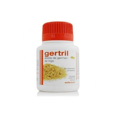 Aceite de Germen de Trigo Gertril Soria Natural, 125 perlas