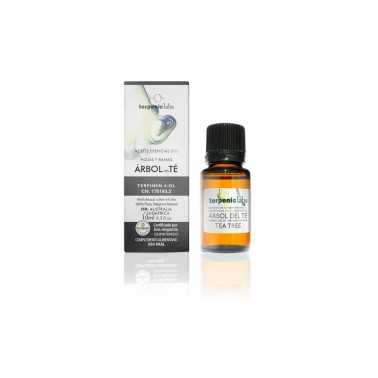 Arbol del Te Aceite Esencial Alimentario BIO Terpenic, 10 ml.