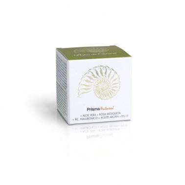 Crema baba de caracol  con Ac. Hialurónico y Argán SPF 15 Prisma Natural, 50 ml.
