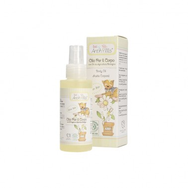 Aceite corporal Baby ECO Anthyllis, 100 ml.