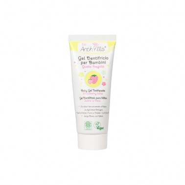 Dentífrico para niños Aloe Vera y Malva ECO Anthyllis, 75 ml.