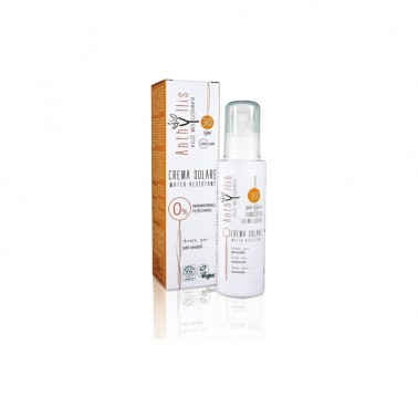 Crema Solar Fluida SPF30 ECO Anthyllis, 100 ml.