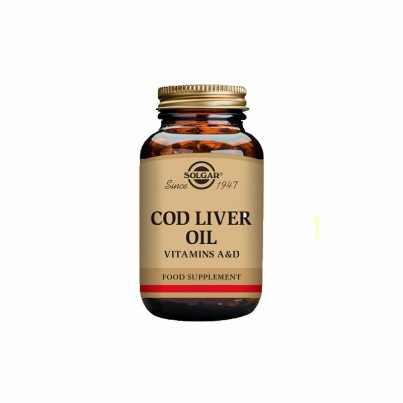 Aceite Hígado de Bacalao Solgar