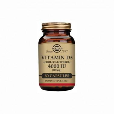 Vitamina D3 4000 iu 100 mg Solgar