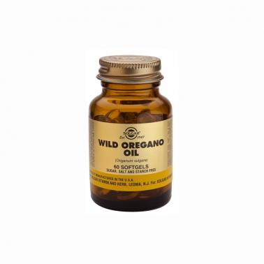 Aceite de Orégano Silvestre (origanum v.) Solgar, 60 perlas