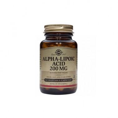 Acido Alfa Lipoico Solgar, 50 vegicaps