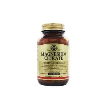 Citrato de Magnesio Solgar 60 comp