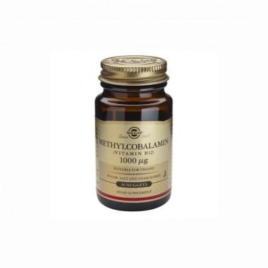 Metilcobalamina (Vit. B12 1000 mcg.) Solgar