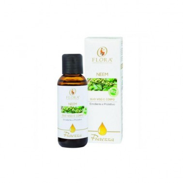 Aceite de Neem Antiséptico BIO Flora, 50 ml.