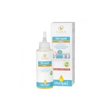 OVOPID Aceite capilar anti piojos Fase 1 Flora, 100 ml