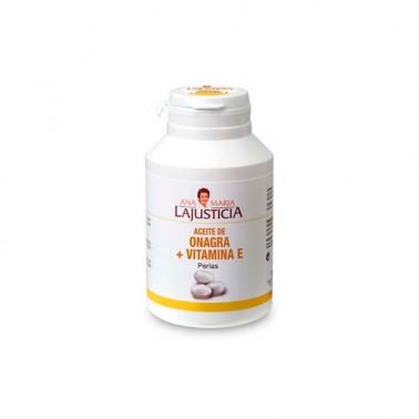 Ana Maria Lajusticia Aceite de ONAGRA y Vitamina E, 300 perlas