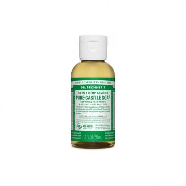Jabón Líquido almendras Dr. Bronner´s, 60 ml.