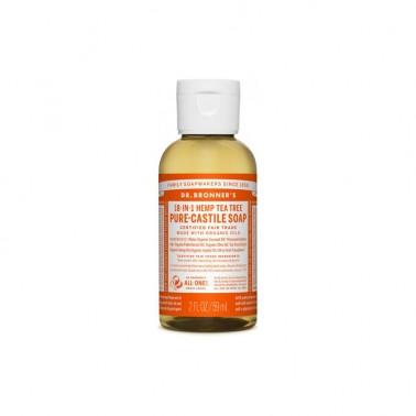 Jabón Líquido árbol del te Dr. Bronner´s, 60 ml.