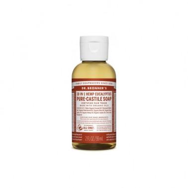 Jabón Líquido Eucalipto Dr. Bronner´s 60 ml.