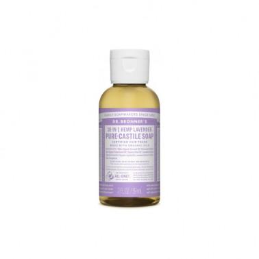 Jabón Líquido Lavanda Dr. Bronner´s 60 ml.