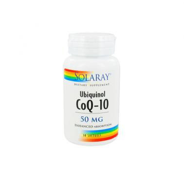 Ubiquinol CoQ10 50 mg Solaray