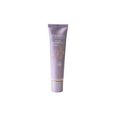 Benecos BB Cream Porcelain 8 en 1 BIO, 20 ml.