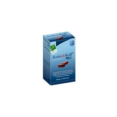 Aceite de Krill NKO Cien por Cien Natural, 80 cap.