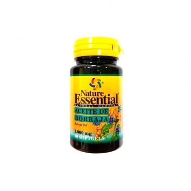 Borraja 1000 mg. Nature Essential, 30 perlas