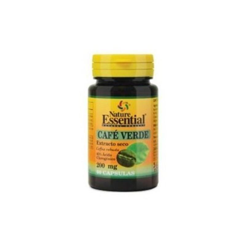 Café Verde 200 mg. (ext seco) Nature Essential, 60 cap.