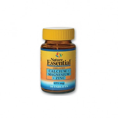 Calcio Magnesio Zinc 475 mg. Nature Essential