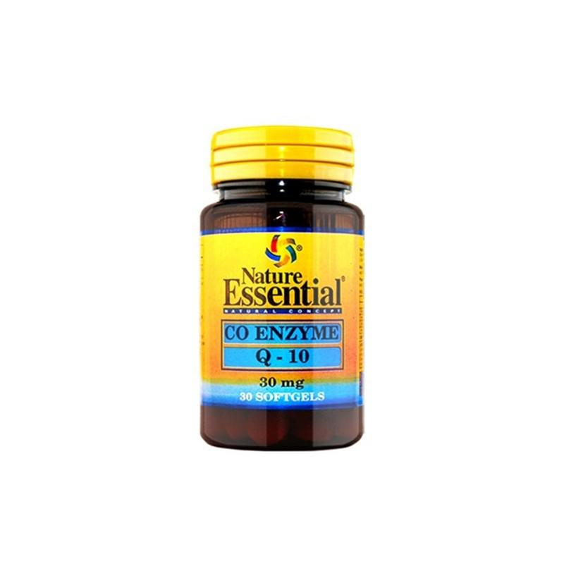 Co-Enzima Q10 30 mg. Nature Essential, 30 perlas