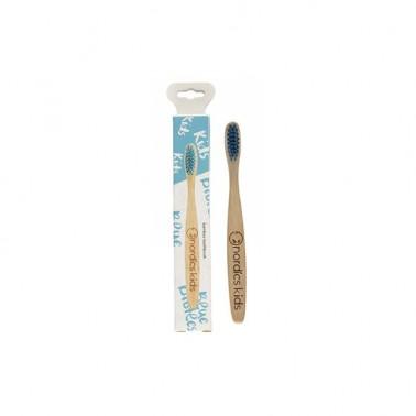 Cepillo dental Bambú Niños Azul Nordics