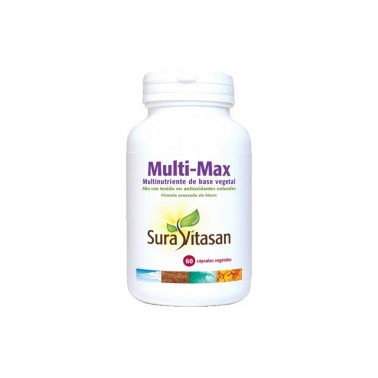 Multi-Max Multinutriente de Base Vegetal Sura Vitasan
