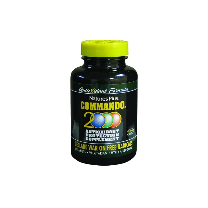 Commando 2000 (anktioxidante) Natures Plus