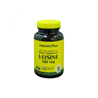 L-Lisina 500 mg. Natures Plus