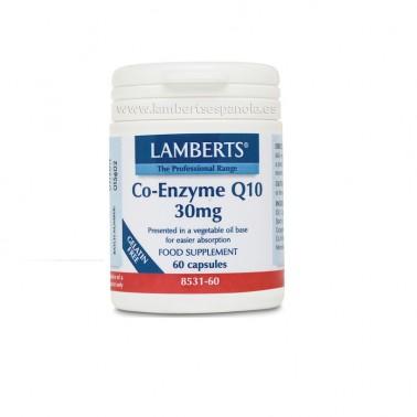 Coenzima Q10 30 mg. Lamberts, 60 cap.