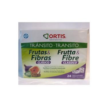Frutas y Fibra Clásico 24 cubitos Ortis