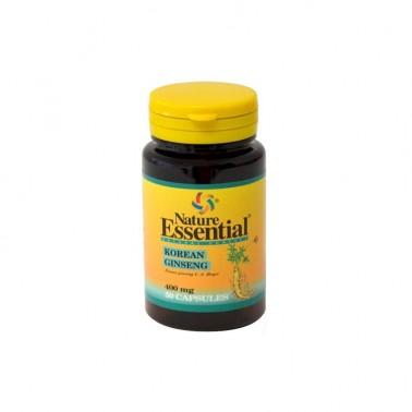 Ginseng Koreano 400 mg. Nature Essential